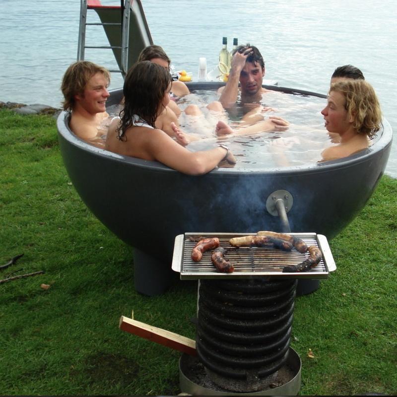 Печь из ванны своими руками 61
